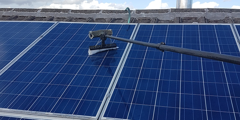 Solar Panel Cleaning Dunfermline, Fife