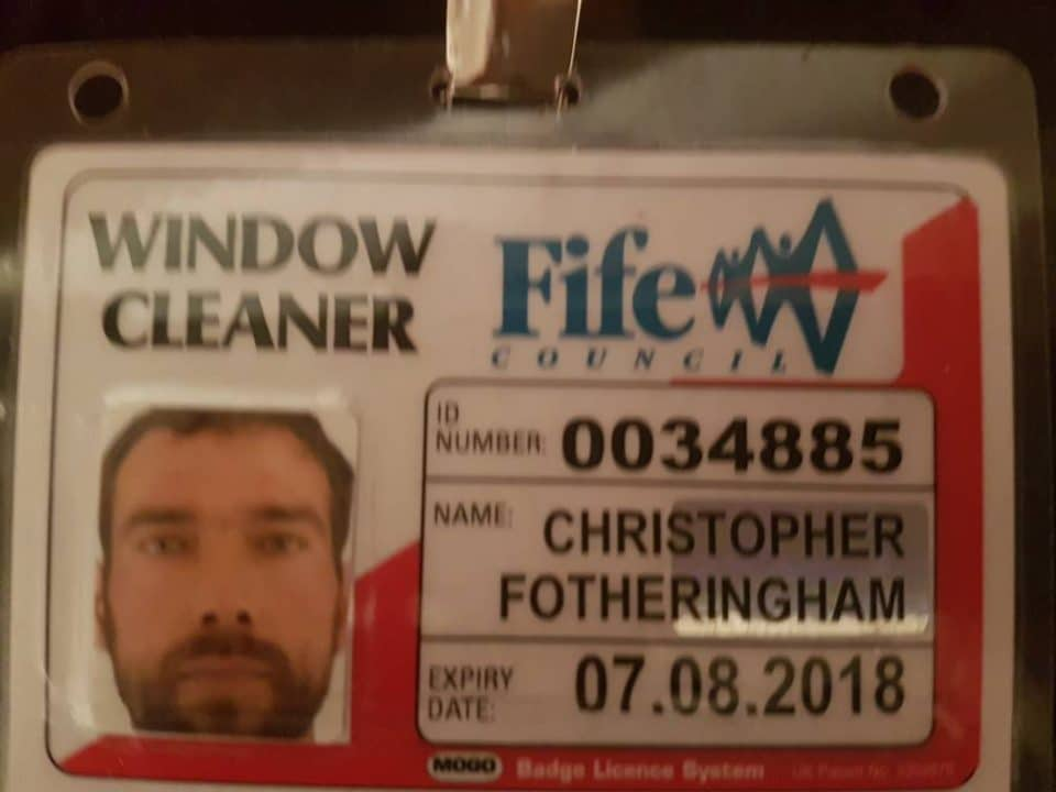 Window Cleaning License