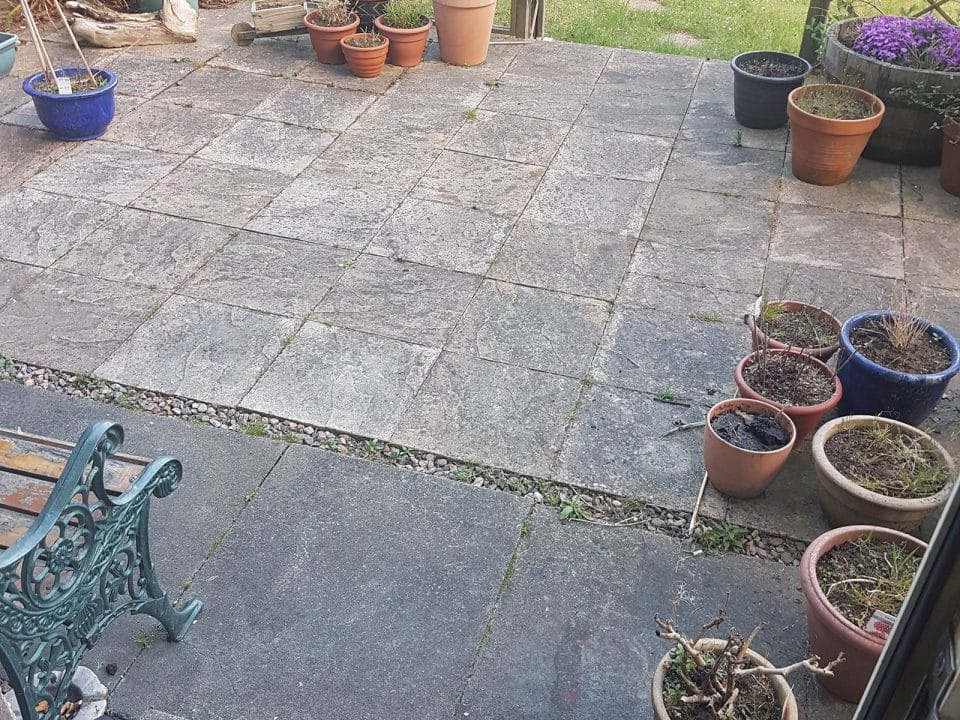 Patio Cleaning in Dunfermline and Kirkcaldy